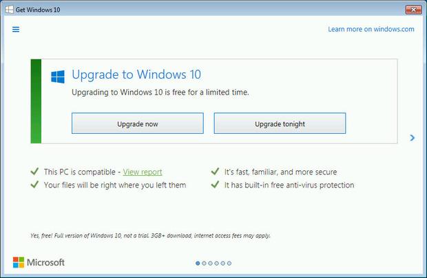 Microsoft сваля ръкавиците - натискът за ъпгрейд към Windows 10 става още по-груб 4