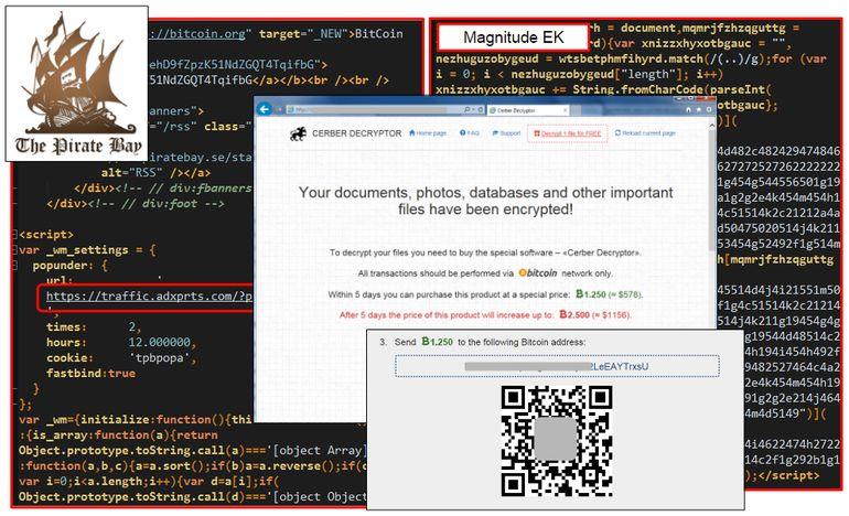Потребителите на различни торент сайтове са се заразили с крипто вирус от реклами 1
