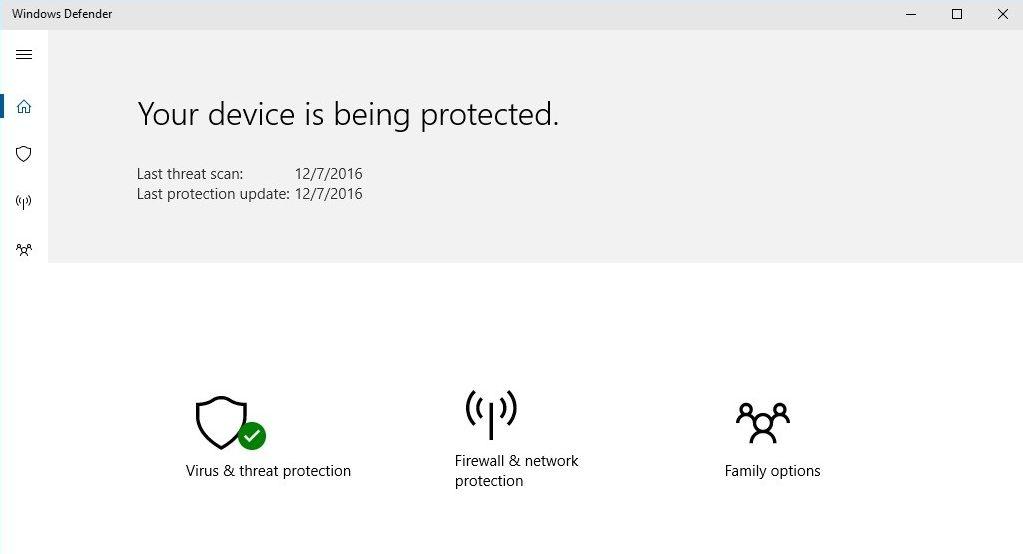 Майкрософт започва да тества нов интерфейс за Windows Defender при Windows 10 4
