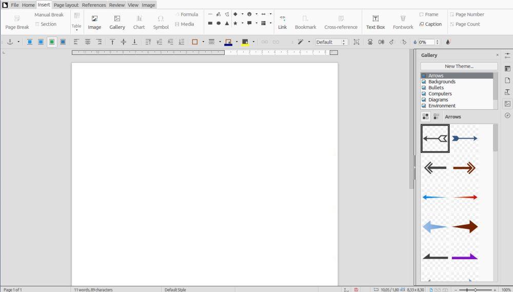 В LibreOffice 5.3 ще има рибон меню като при Microsoft Office 4