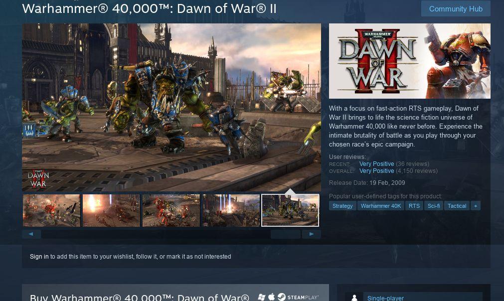 Warhammer 40,000: Dawn of War II излезе за Linux 4
