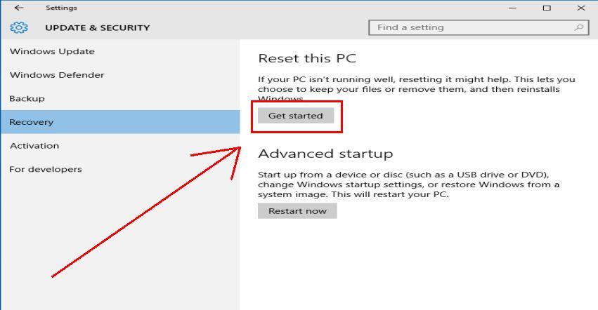 Windows 10: Ето как да върнем Windows към фабричните му настройки без преинсталация 13