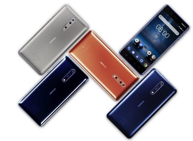 Смартфонът Nokia 8 е тук 4