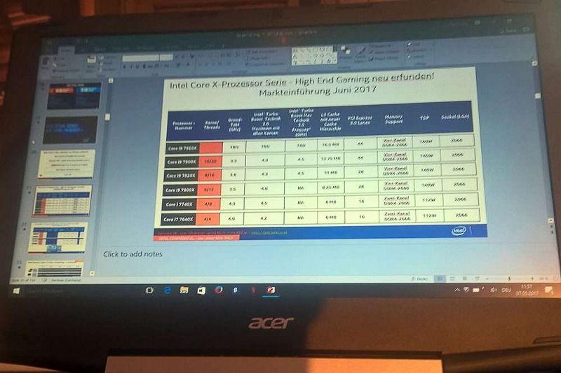 Първите Intel Core i9 процесори може би идват само след месец 4