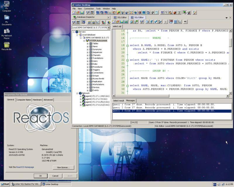 Излезе нова версия на ReactOS 4