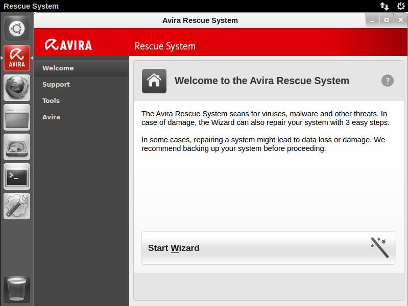 Avira Rescue System
