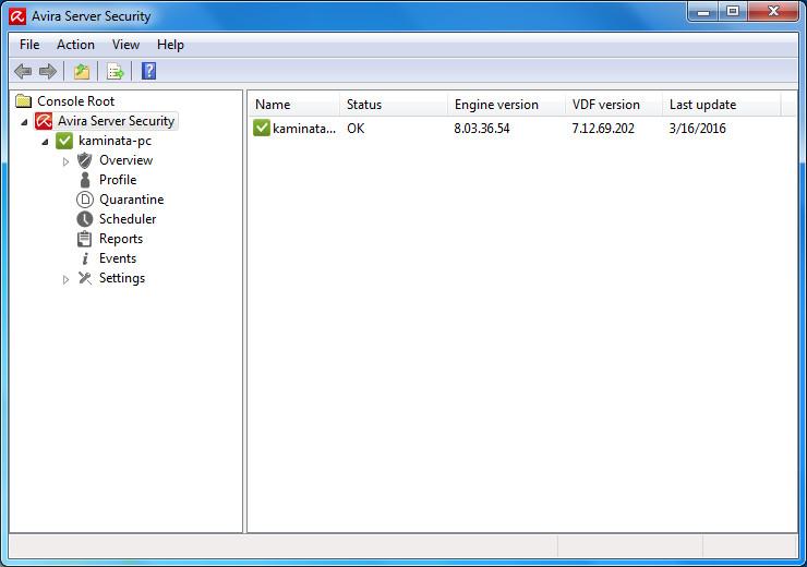 Avira Server Security