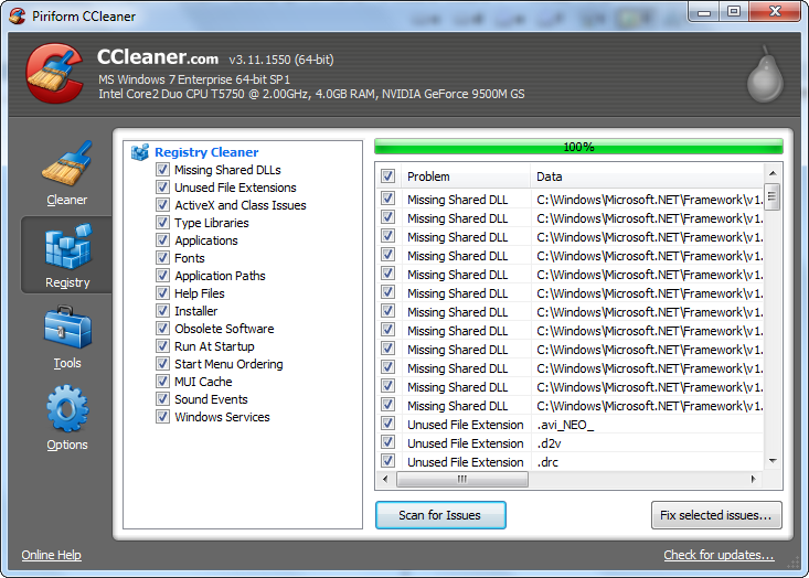 Portable CCleaner