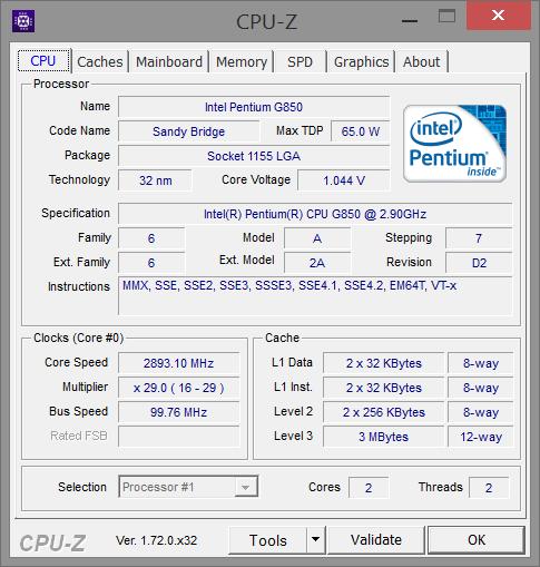 Portable CPU-Z