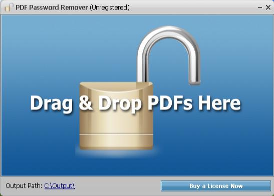 Portable PDF Password Remover 1.6 download 2