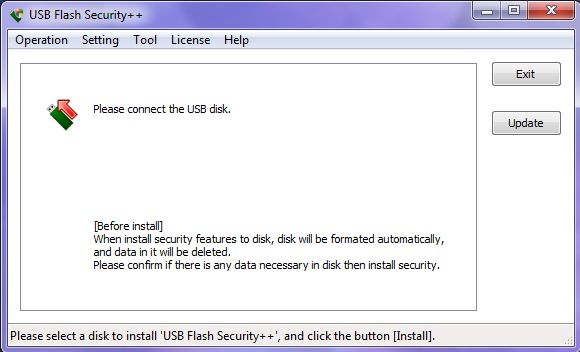 USB Flash Security++